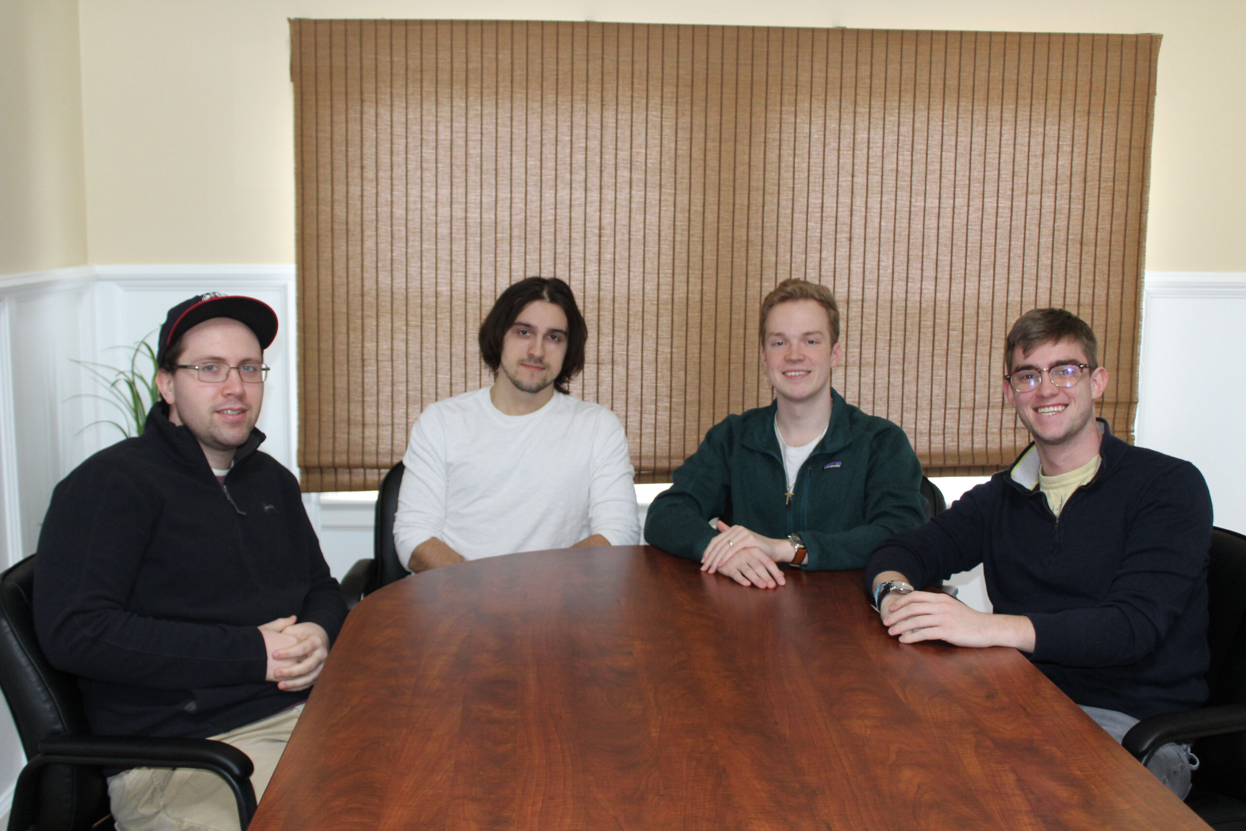 Administrative Team: Mike, Cory, Josh and Tristan