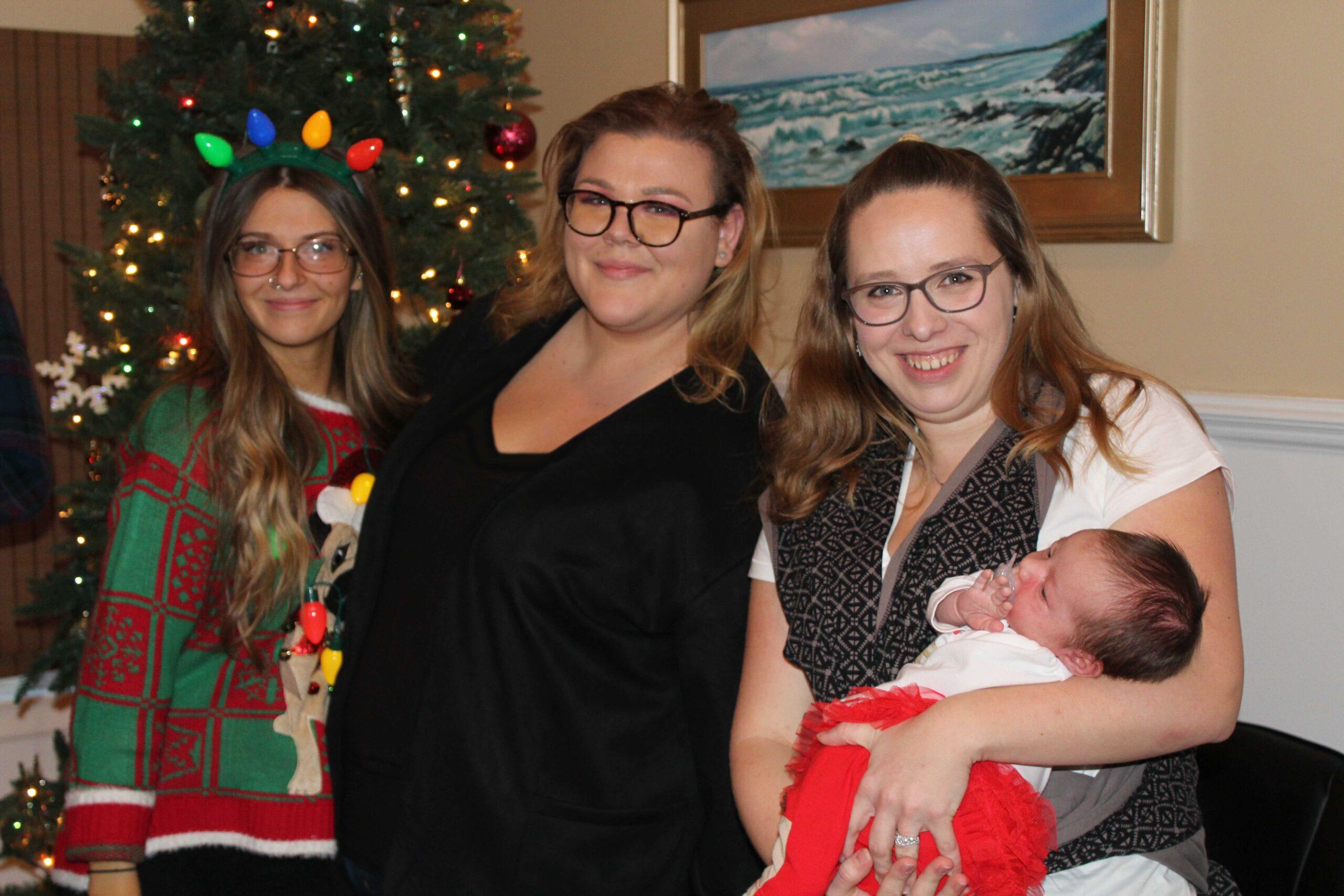 Cecilia, Chelsea and Jessica